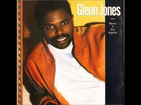 GLENN JONES   HERE I GO AGAIN