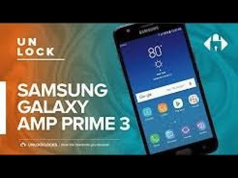 How To SIM Unlock Cricket SAMSUNG Galaxy Amp Prime 3 (SM-J337AZ)