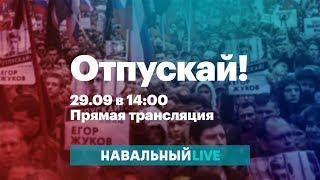 Митинг в поддержку жертв «московского дела», «дела ФБК» и всех политзаключенных. Прямой эфир
