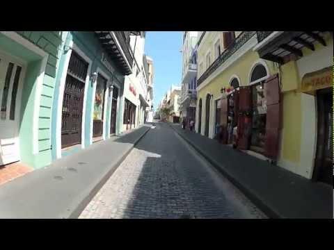 Un paseo por el Viejo San Juan, Puerto Rico