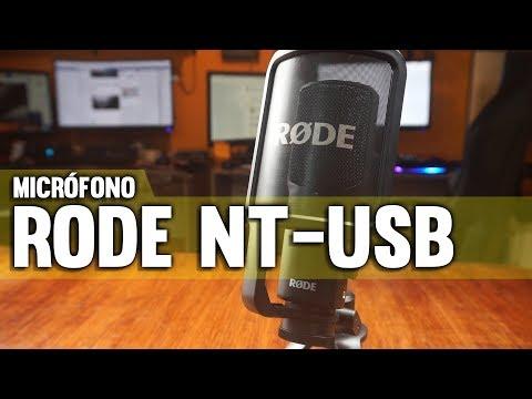 Revisión RODE NT-USB, El mejor micrófono para stream, producción de contenido