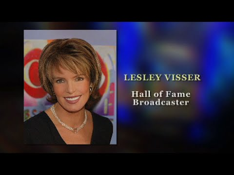 Pionering Hall of Fame Sportscaster Lesley Visser Video Biography