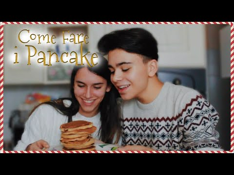 COME FARE I PANCAKES WITH MY COUSIN #LucksMas
