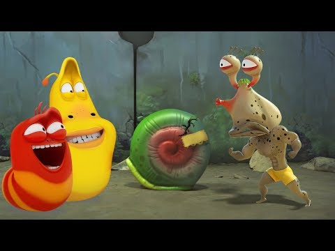 LARVA - SNAIL FAIL | Cartoon Movie | Cartoons For Children | Larva Cartoon | LARVA Official