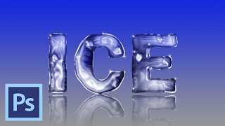 Photoshop Tutorial: How to Create Icy, Frozen Text