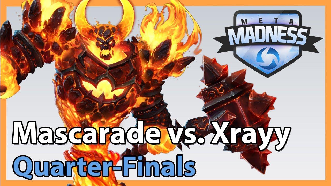 Mascarade vs. Xrayy - META Madness - Heroes of the Storm 2020