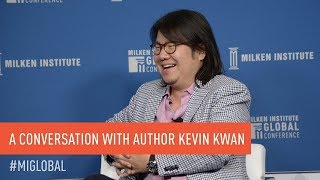 "A Conversation With ""Crazy Rich Asians"" Author Kevin Kwan"