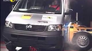 Краш тест т5 транспортер иммобилайзер фольксваген транспортер