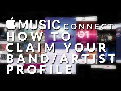 How to claim your band/artist profile on Apple Music Connect!