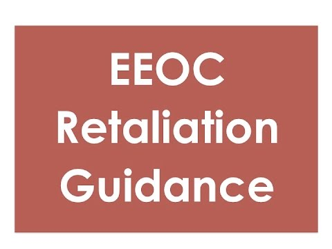 EEOC Retaliation Guidance Update|hrsimple.com