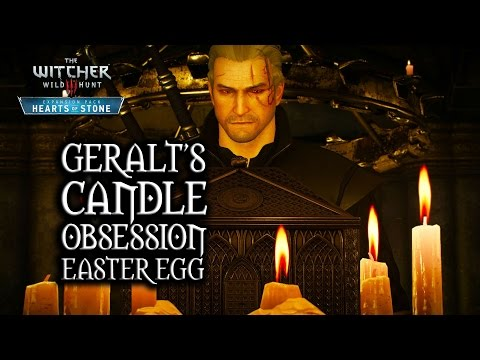 The Witcher 3: Wild Hunt - Hearts of Stone - Geralt's candle-lighting obsession (Easter Egg)