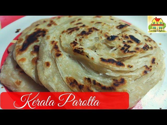 Parotta Recipe in Telugu || kerala Parotta