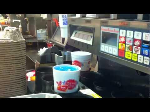 Automated Beverage System, McDonalds, 3am (video postcard)