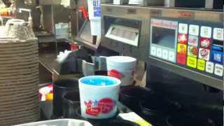 Automated Beverage System, McDonalds, 3am (video postcard)