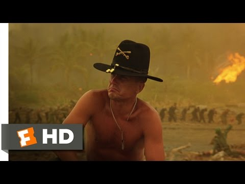 The Smell of Napalm In the Morning  Apocalypse Now 48 Movie  1979 HD