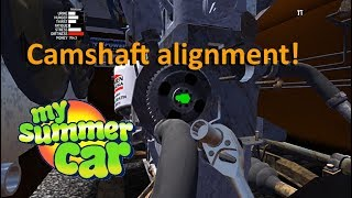 My Summer Car   Engine Clunks / Bangs / Dings When First Starting   (Camshaft Alignment)
