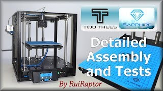 Two Trees SAPPHIRE S (3DPrinter) - Detailed Assembly & Test Prints