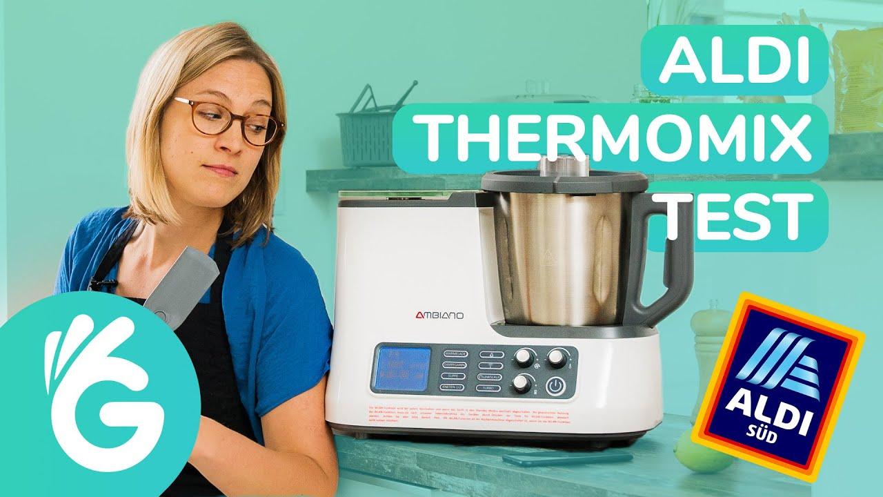 Aldi Thermomix 2019 Die Neue Ambiano Kuchenmaschine Im Test Youtube