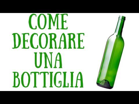 decorazioni bottiglie lampade personalizzate  Doovi