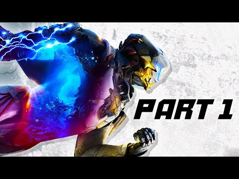 Anthem Gameplay Walkthrough PART 1 - Mission 1 AND MORE!  (Anthem Campaign)