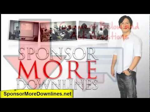 Sponsor More Downlines Objections Handling Video