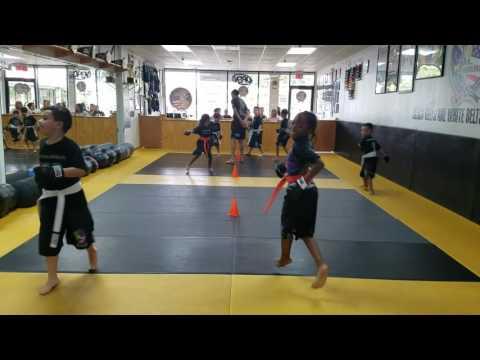 Kids 1 Kick Boxing Training Video 1