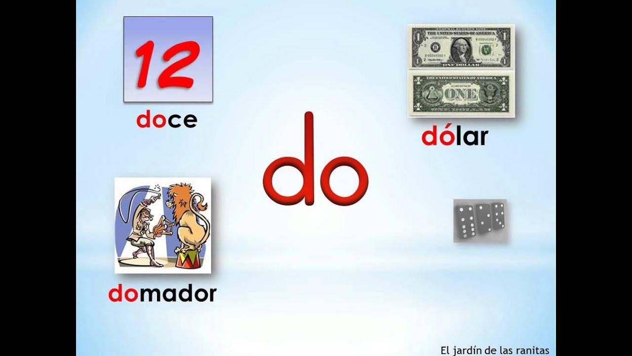 7 Silabas Da De Di Do Du Syllables With D Youtube