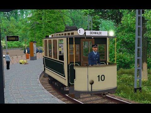 OMSI 2 - AEG Oldtimer Trolley Tram in Eberlinsee!: http://www.ovdoornederland.nl  De site over het Openbaar Vervoer in Nederland!  In deze video rijden we met de nieuwe AEG Oldtimer Trolley Tram voor OMSI 2. We rijden lijn 1 van de map Eberlinsee van het Hauptbahnhof naar Eichwalde.