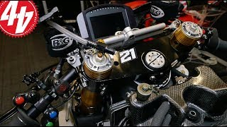 What electronics are involved in British Superbikes?