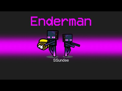 Super ENDERMAN Imposter Role in Among us - SSundee