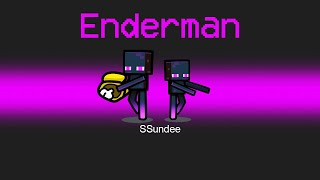 Super ENDERMAN Imposter Role in Among us