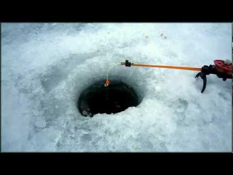 зимняя рыбалка на жерлицу балансир и мормышку
