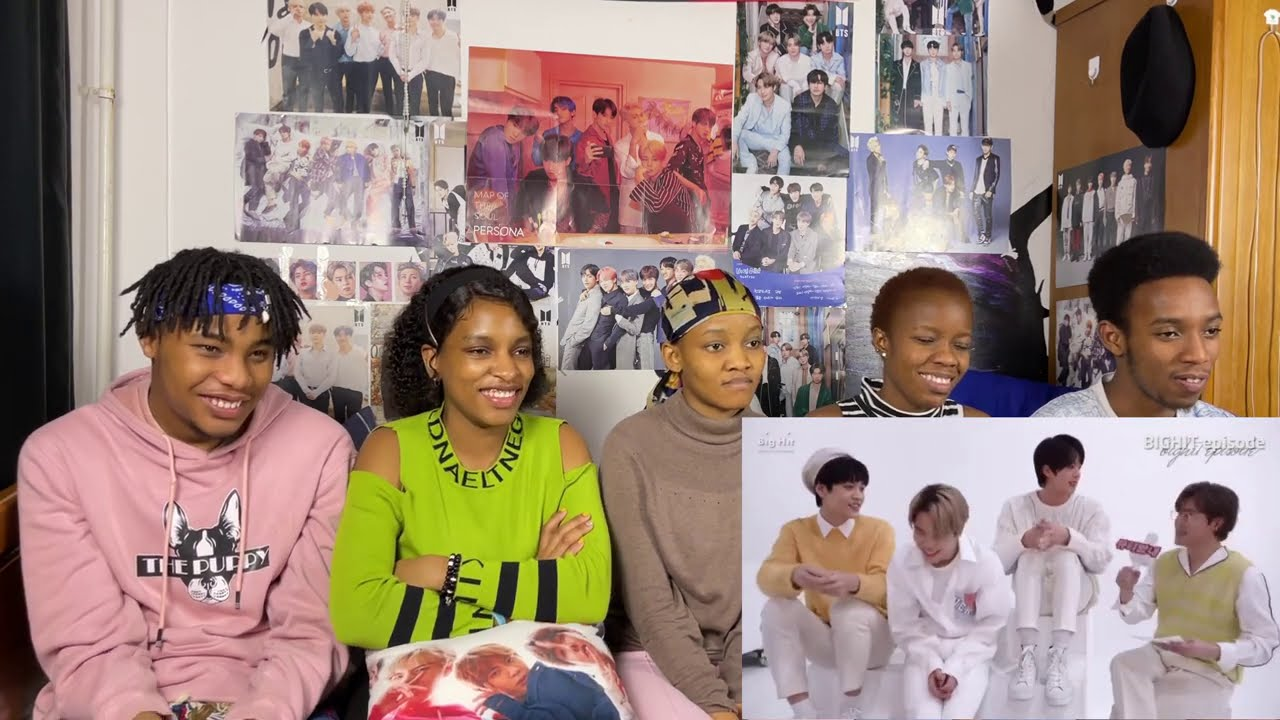 Behind the Scenes of Big Hit's Group Photo! (reaction)