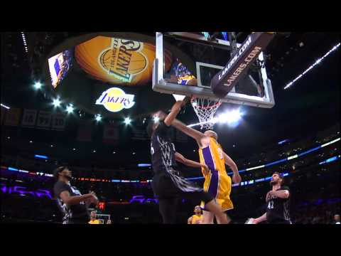 Chris Kaman's Block Leads To A Wesley Johnson Smash