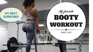MY BEST BOOTY EXERCISES - WORKOUT PROGRAM FOR CONTACT WITH GLUTES | Follow me to the gym