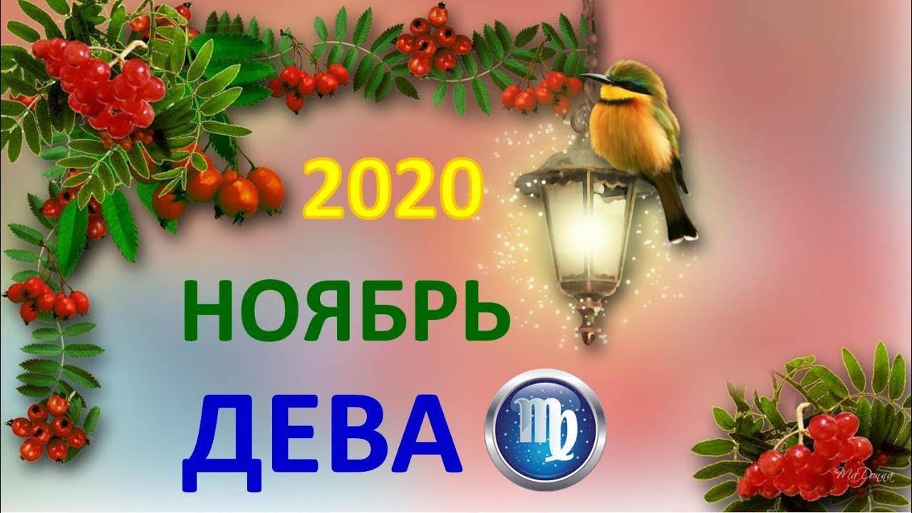 ♍ ДЕВА. ❄️ НОЯБРЬ 2020 г. 🌌 4 сферы жизни + подсказки АНГЕЛОВ 👉 Таро прогноз