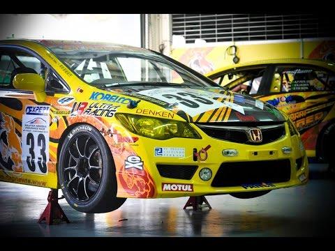 Honda Civic Type R (FD2R) Race Car - YouTube