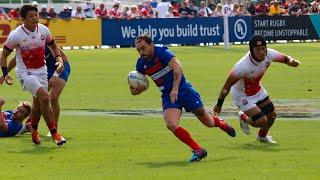Dubai Rugby 7s - France 7 : Les essais contre le Japon (41-7)