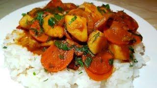 Картофель тушёный без масла в пост от цыганки. Картофельный соус. Постное блюдо. Gipsy cuisine.