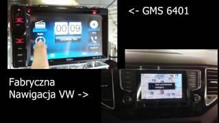 GMS 6401 vs VW Navigation Golf 7