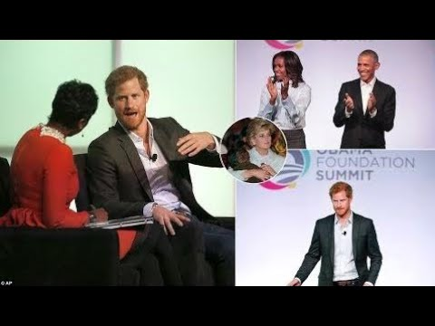 News Today -  Prince Harry Calls Princess Diana His ''Ideal Role Model'' at Obama Foundation Summit