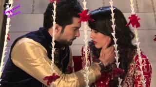 On locaton of TV Serial 'Qubool Hai'  Asad romance with Joya first time