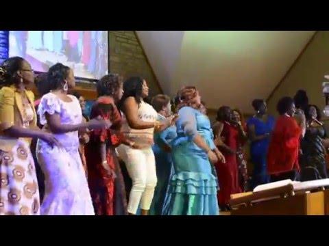 Naomi Karanja Muhotoro Performing in Kansas City Neema Community Center