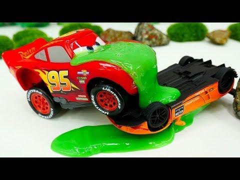 Disney Cars. Der Lamborghini Trickst Im Rennen. Video Für Kinder