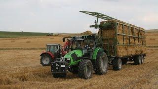 fliegl ballenwagen dpw im agrartechnik maschinentest. Black Bedroom Furniture Sets. Home Design Ideas