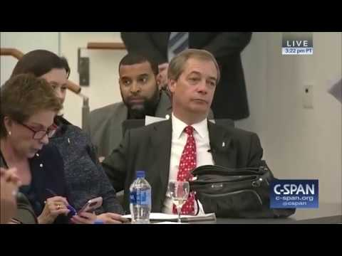 Nigel Farage Debates Vicente Fox, The Former President of Mexico