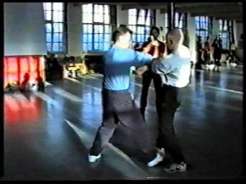 AFS Wing Chun - Sigung Ip Ching & Sifu Paul O'Neal Chi Sau, Leeds, UK, 1990's