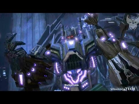 Transformers: Rise of the Dark Spark - Bruticus Transformation!