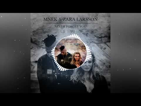Zara Larsson, MNEK - Never Forget You (Lost Voices Remix)