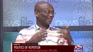 NDC nepotism claim invitation to indulge in propaganda masturbation – Kweku Baako